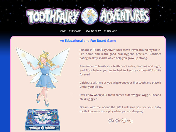 toothfairy adventures website thumbnail